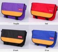 人気セール高品質なSUPREME パープル レッド ブラック ブルー ネイビー 5色 シュプリーム 偽物 通販 ボックスロゴ メンズショルダーバッグ.