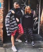 2016AW 秋冬新作 SUPREME シュプリーム 3M Reflective Repeat Taped Seam Pant パンツ ブラック ロゴ入り