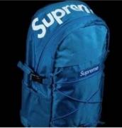 SUPREME ブルー バックルが付き 限定セール最新作 メンズ レディース リフレクティブ リピート シュプリーム バックパック.