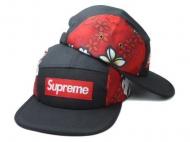 洗練されたシュプリーム帽子新作BOX LOGO CAP SUPREME コピー商品スポーツ旅行通勤通学帽子花柄ブラック