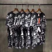春夏新品 2017 SUPREME シュプリーム Tシャツ Dream Tee 半袖 ブラック ホワイト ピンク コットン 総柄プリント
