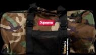 SUPREME 17SS Box Logo Tonal Duffle Bag CORDURA ボストンバッグ 迷彩 シュプリーム 偽物 メンズ用.