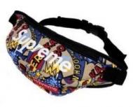シュプリーム バッグ ショルダー SUPREME メンズウエストバッグ 花柄 限定セールお買い得なボディバッグ.