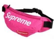 シュプリーム 偽物 メンズボディバッグ 新作入荷限定セール SUPREME ウエストバッグ ローズレッド 男女兼用.