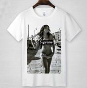 数量限定HOT SUPREME tシャツシュプリーム 半袖 グレー ホワイト コットン ボックスロゴ 新作 プリント クルーネック