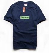 シュプリーム tシャツ コピー SUPREME 夏服 グレー ネイビー 2色 メンズ レディース 兼用 数量限定大得価 ボックスロゴ.