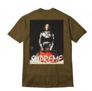 大人気 新品 シュプリーム SUPREME JOAN OF ARC TEE ジャンヌダルクTシャツ 半袖 クルーネック コットン ブラウン