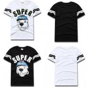 爆買い大人気なシュプリーム メンズ 半袖Tシャツ SUPREME ホワイト ブラック 2色 犬画像 コットン生地.