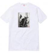 SUPREME tシャツ コピー シュプリーム KRS-One Tee 半袖 コットン ホワイト フォトTシャツ  クルーネック 新作 新品