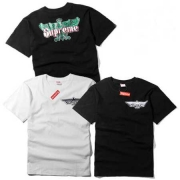 限定セール大人気なSUPREME エニシング LOGO TEE ファンシー ロゴ Tシャツ 半袖 鷹 プリント ホワイト ブラック 2色.