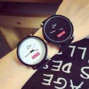 人気美品シュプリーム新作2017 腕時計 革ベルトSUPREME コピー商品ペアウォッチシンプルプレゼント