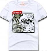 シュプリーム プリント ホワイト ブラック 2色 SUPREME 半袖Tシャツ 2018 春夏 季超人気 メンズ レディース用.