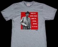 SUPREME tシャツ 安い 2016ss 新作 シュプリーム Burroughs Tee クルーネック プリント 新品 コットン グレー