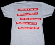 シュプリーム tシャツ サイズ感 SUPREME x UNDERCOVER Anarchy TEEアンダーカバー シュプリーム 半袖 2015ss グレー