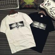 爽やかなシュプリーム Tシャツ激安プリント半袖SUPREMEコピーTシャツインナートップス2色可選