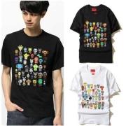 可愛いシュプリームコピー代引き半袖TシャツSUPREME 通販プリントTシャツインナートップス2色可選