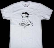 シンプルなシュプリームTシャツ偽物プリントTシャツSUPREME 人気商品半袖Tシャツホワイト