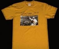爽やかなシュプリームTシャツ激安プリント半袖TシャツSUPREMEオンラインインナートップスイエロー