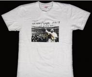 春夏新作シュプリームTシャツ偽物プリント半袖TシャツSUPREMEオンラインインナートップスホワイト