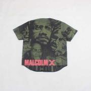 大注目SUPREME MALCOLM X半袖シャツシュプリームTシャツ激安マルコムXベースボールシャツ