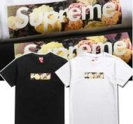 HOT人気セールシュプリームオンライン半袖Tシャツ SUPREME ボックスロゴTシャツプリント 2色可選