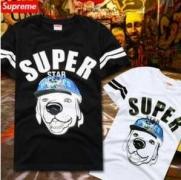 高品質シュプリーム激安Tシャツ 半袖TシャツSUPREME動物プリントTシャツ2色可選