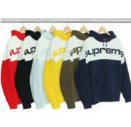 SUPREME パーカー コピー シュプリーム 男女兼用 黒、赤、イエロー、ダークブルー、ライトブルー、茶色6色選択.