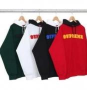 SUPREME コピー シュプリーム パーカー レディース、メンズ  赤、ホワイト、ブラック、グリーン4色選択.