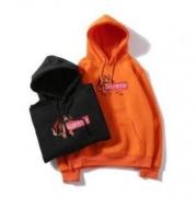シュプリーム 人気サイズ SUPREME パーカー ブラック、オレンジ2色選択 男女兼用 コットン生地 ストリート.
