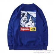 SUPREME シュプリーム x THE NORTH FACE ザ・ノースフェイス Mountain Tee パーカー ブラック、ホワイト、ブルー.