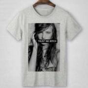 SUPREME シュプリーム コピー品 ショートスリーブ Tシャツ 男女兼用 コットン生地 グレー,ホワイト2色選択.