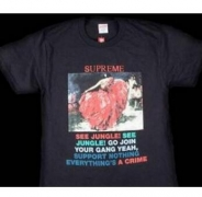 SUPREME シュプリーム Tシャツ サイズ感 Dancer Tee ダンサー 半袖 ブラック コットン生地 メンズ ストリート.