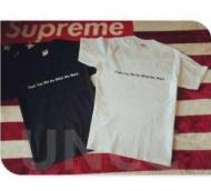 SUPREME シュプリーム tシャツ 新作 半袖 Tシャツ ブラック、赤、ホワイト3色選択 男女兼用 コットン生地.