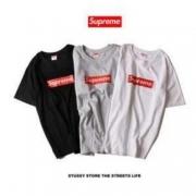 シュプリーム ボックスロゴ SUPREME Box Logo Tee 半袖 Tシャツ コットン生地 ブラック、ホワイト、グレー.