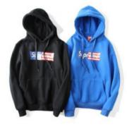 シュプリーム ボックスロゴ パーカー SUPREME Box Logo 男女兼用 ブルー、ブラック2色選択 コットン.