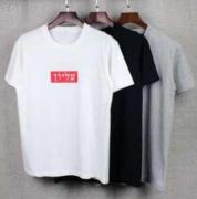 シュプリーム サイズ tシャツ SUPREME 半袖 t シャツ ホワイト、グレー、ブラック3色選択 ストリート コットン.
