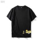 大人気セール SUPREME シュプリーム tシャツ 新作 ホワイト、ブラック2色選択 メンズ  コットン生地 半袖.