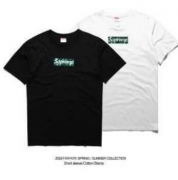SUPREME シュプリーム ボックス ロゴ t シャツ 偽物 半袖 Box Logoホワイト、ブラック2色選択 コットン.
