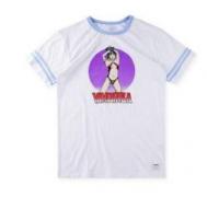 SUPREME シュプリーム Vampirella S/S Football Top フットボールトップ 半袖 Tシャツ ブラック、ホワイト.