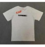 SUPREME コピー Tシャツ シュプリーム 半袖 男女兼用 ホワイト、ブラック2色選択 コットン生地 ストリート.