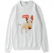 SUPREME Adorable Dog クルーネック パーカー ブラック、ホワイト2色選択 コットン生地 シュプリーム.