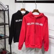 SUPREME スーパー コピー シュプリーム パーカー ブラック、赤2色選択 コットン生地 男女兼用 ストリート.