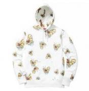 SUPREME シュプリーム × MARK GONZALES Gonz Butterfly Hooded Sweatshirt バタフライプリントパーカー.