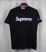 SUPREME Tシャツサイズ感  シュプリームプリント半袖Tシャツ五つ星クールネックブラック