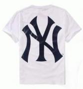 シュプリーム 半袖Tシャツ SUPREME x New York Yankees x 47 Brand 18SS Box Logo 3色可選