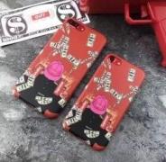 ユニーク シュプリームケースIPHONE 7Plusケースカバー SUPREME 携帯アイフォンケースボックスロゴレッド