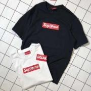 シュプリームボックスロゴtシャツストリート男女兼用クルーネックTシャツ