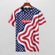 おしゃれシュプリームコピーボックスロゴストリートコットン半袖Tシャツ