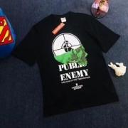 Supreme ×UNDERCOVER×PUBLIC ENEMY  18SS Tシャツ カップル 夏季プリント ファション シュプリーム