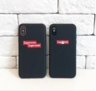 RIPNDIP×Supreme IPHONE X ケースカバー ブラック 人気 Supreme ブランド プレゼント カップル